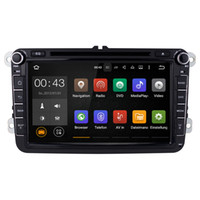 Wholesale Skoda Din Android - Joyous(J-8813-8) Quad Core 1024HD 2 Din Android 5.1 Car DVD Player GPS Navigation For VW Skoda Polo GOLF Passat Jetta (with canbus)