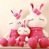 Wholesale Hello Bunny - 40CM 2016 new hot hello kitty bunny rabbit child elegant junior partner children's toys baby toys kawaii brinquedos juguetes