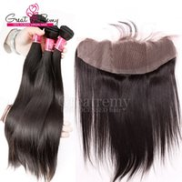 Wholesale Hair Extension Machine For Sale - Drop Shipping Malaysian Straight Lace Closure Hair Piece 4*13 Ear to Ear Lace Frontal Human Hair Extensions for Mother's Day Hot Sale