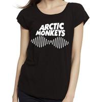 Wholesale Monkey Boy Top - Wholesale-Women Arctic Monkeys tshirt Cotton O Neck T ShirtBreaking Bad Heisenberg London Boy Woman Tops Tees RF T-Shirt Free Shipping