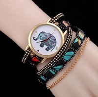 Wholesale Ladies Bracelet Watch Fashionable - The new 2017 fashionable national wind ms Lady & girl rivet chain the winding bracelet Rural style watch