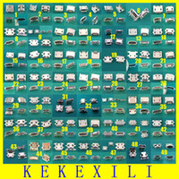 tipos de conectores jack venda por atacado-Venda por atacado - 49 Modelos 98pcs Micro USB Jack conector Tablet telefone porta de carregamento tomada conector de poder 5pin tipo pia chifre de boi 5p cauda 7pin