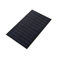 Wholesale 12v monocrystalline solar panel for sale - Group buy 20Pcs W V PET Encapsulated Solar Cell DIY Monocrystalline Solar Cell Panel Size mm mm for Test and Research Work