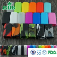 Wholesale D3 Case - Silicone Case Silicon Cases Colorful Rubber Sleeve Silica Gel Skin 19 Colors For ipv d3 80w box mod ipvd2 ipvd 3 80watt