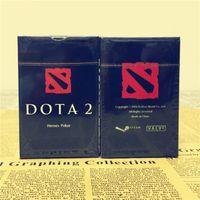 série de jogos de cartão venda por atacado-Frete grátis DOTA2 Jogo em torno de série de Herói Real jogo de tabuleiro de Pôquer Coletar Cartões dota Poker