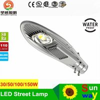 Wholesale Dhl Free Shipping Led Lamp - 150W LED Street Light street garden lamp led road light 21000LM CREE XTE Chip Meanwell driver UL 5 years warranty DHL free shipping