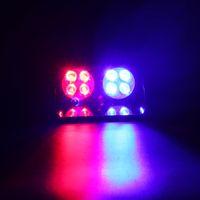 Wholesale red white led strobe resale online - S8 W Windshield Strobe Light Viper Car LED Signal Emergency Fireman Police Beacon Warning Light CLT_42O