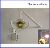 Wholesale Surgical Shadowless Lamp - 50 W Wall Hanging LED Surgical Medical Exam Light Shadowless Lamp With Lamp Arm 1 set