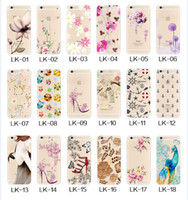 Wholesale Black Apple Fruit - For Apple iphone 7 plus 6 6S plus SE silicone case summer ultra thin Plating TPU iphone plus cartoon phone cases flowers fruit