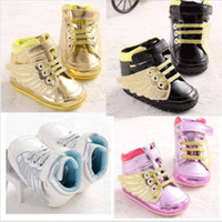 Wholesale Toddler Winter Sale - 2016 Hot sale Baby Shoes Infants PU leather Boots Toddler Boy Wool Snow Crib Shoes Winter Booties