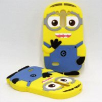 Wholesale Despicable Cover Case Lg - For LG G3 S Case 3D Soft Rubber Despicable Me 2 Minions Silicone Cell Phone Back Cases Cover For LG G3 Beat