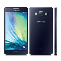 Wholesale Dual Sim 13 Mp - Unlocked Samsung Galaxy A5 A5000 A500F Original Cell Phones 2GB RAM 16GB ROM Dual Sim 5.0 Inch Quad Core 13 MP Camera Sealed box
