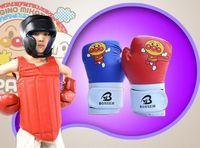 Wholesale Cartoon Train Box - Children Cartoon Sparring MMA Kids Kick Fight Boxing Gloves Training Toys Sporting Kids Boxing