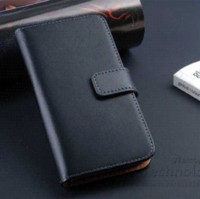 Wholesale Retro S4 Mini Cover - Luxury Retro Real Genuine Leather Wallet Case for Samsung Galaxy SIV Mini i9190 Stand Flip Phone Accessories Cover for S4 Mini