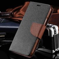 Wholesale Cute S4 Wallet Case - S4 Luxury Leather Flip Case for Samsung Galaxy S4 SIV i9500 Wallet Stand Cover + Card Slot Accessories Elegant Fashion Cute