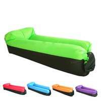 Wholesale Inflatable Air Lounger Portable Air Sofa with Carry Bag Made of Durable D Parachute for Indoor outdoor Camping Beach Park Backyard
