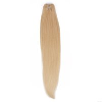 Silk Silky Straight Hair Extension Remy Human Hair Weave 613 Rubia Thick No Split Ends Raw Indian Hair Bundles Indian Hair Online 9A