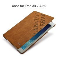 Wholesale Tablet Brand Accessories - Wholesale-Labato for iPad Air   Air 2 Case (Both models are suitable) PU Leather Luxury Brand Tablet Accessories Covers & Cases