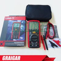 Wholesale Digital Insulation Resistance Tester Meter - 1000V Digital Handheld True RMS Megger Insulation Resistance Meter Tester Multimeter Ohm Voltmeter UNI-T UT505A Megohmmeter
