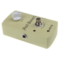 Wholesale Effect Pedal Boost - 35dB Boost JOYO JF-38 Electric Violao Guitarra Guitar Parts Effect Pedal Roll Boost Clean Volume True Bypass Design 2016 New I288