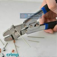 Wholesale Ferrule Clamp - Ferrule Sleeves Crimping Tool Clamp Tool+Steel Wire Rope Cut Working For 0.5MM-2.2MM Size Steel Wire Rope And Ferrule Sleeves