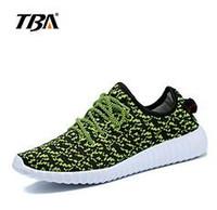 Wholesale Tba Shoes - TBA Shoes Fashion Black Blue Gray White Color Men Women Casual Shoes Breathable men Shoes size:36-46