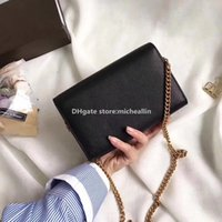 Wholesale Iphone G Cases - Women Messenger Bag Handbag Genuine leather high quality original brand designer luxury box famous new fashion G-225