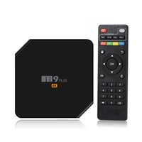 Wholesale Android Tv Box M9 - iLEPO m9 plus Android Tv box 2GB+16GB S905 Quad Core Android5.1 5Ghz Wifi 100M LAN internet bluetooth 4.0 With LED Display