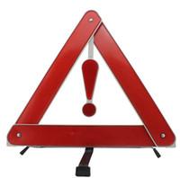 Wholesale Car Warning Triangle - Car trouble warning signs folding tripod reflective warning triangle car frame   car warning signs licensing