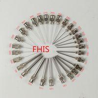 Wholesale Wholesale Steel Tubing - 11G~30G metal stainless steel dispensing needles blunt, 1.5 inches longer length of tubing