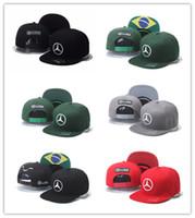 Wholesale F1 Quality - Good Selling New high Quality cap Lewis Hamiltons Signature Edition snapback hat F1 Champion Racing sports Baseball chapeau Automobile