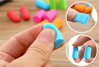 Wholesale Ear Plugs For Sleeping - Bag pack Soft Orange Foam Ear Plugs Tapered Travel Sleep Noise Prevention Earplugs Noise Reduction For Travel Sleeping DHL free shipping