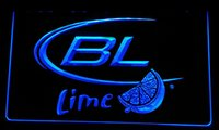 Wholesale Bud Sign Light - LS053-b Bud Light Lime Beer Neon Light Sign