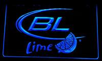 ingrosso neon luminoso di bud-LS053-b Bud Light Lime Beer segno di luce al neon