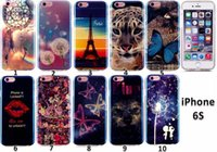 Para Huawei P8lite iphone5 6s para Samsung Galaxy Grand Prime G530 G360 s6 suave Silicone Blue Ray TPU IMD Phone Phone Case Gel