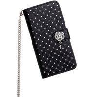 Wholesale iphone 5s case wallet for sale - Luxury Bling Rhinestone Diamond Leather Flip Wallet Case For iPhone S SE S Plus Stand Card Phone Case