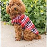 fremde polo großhandel-Neue Haustierkleidung, Frühling, Sommerkleidung, Modehund, Polo, Teddy, Teddy, Kleidung, Außenhandel, Hundekleidung