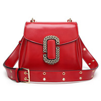 Wholesale Buckle Messenger Bags - Fashion Shoulder Bag Classic Metal buckle hot sell new women bags handbags Small tote bags messenger bag Wholesale retail Free shipping