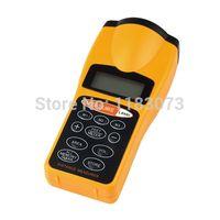 Wholesale Laser Pointer Meter - 100% Original Handheld Infrared Ultrasonic Distance Meter + Laser Pointer Digital Tape Range Finder Measurer to 18M, CP3007