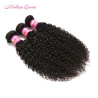 Indio crudo afro Kinky Curly tejido humano 3 paquetes Indian Afro Kinky Extensiones de cabello rizado baratos 7A indio afro Kinky cabello humano a granel