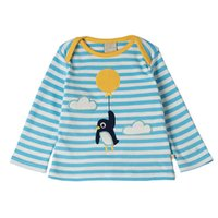 Lovely Penguin T-Shirt für Kinder Striped Tops Langarm Kinder Boutique Kleidung Großhandel 2017 Herbst Herbst 18-24month 2T 3T 4T 5T 6T