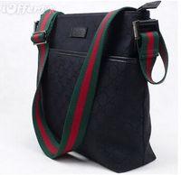 Wholesale Shipping Nylon Bags - Classic Fashion Brand Men's Shoulder bags Women's Messenger bag Canvas Travel Bag beige black shipping