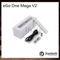 Wholesale Mega Red - Joyetech eGo ONE Mega V2 Starter Kit 2300mah Battery 4ml eGo One mega V2 Atomizer New CL Pure Cotton Coil Head 100% Original