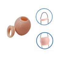 Wholesale Premature Ejaculation - Silicone Male Foreskin Rings Delay Ejaculation Cure Premature Ejaculation Physiotherapy Resistance Ring Orthotics