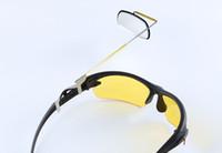 rückspiegelgläser großhandel-2016 neu kommen fahrrad sonnenbrille rückspiegel sicherheit gläser spiegel 360 grad rotation sport sonnenbrille reflektor