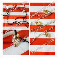 Wholesale Black Butler Grell Sutcliff Cosplay - Wholesale-Black Butler Grell Sutcliff Cosplay Glasses Chain waist Chain
