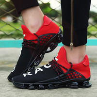 Wholesale Spring Blades - Breathable Fashion Spring Blade Razor 2 Basketball Sport Running Lovers Shoes Springblade Sneakers Blade for Men Women