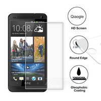 Wholesale M7 Screen Protectors - Qiaogle Anti-explosion Tempered Glass Protection Film for HTC One M7 Tempered Glass Screen Protector (9H * 2.5D)