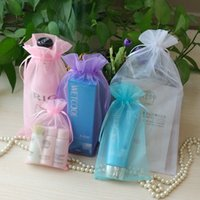 Wholesale Organza Bags 13 - 7*9cm 9*12cm 11*16cm 13*18cm 17*23 Gift bags Organza bags candy bags jewelry package bags christmas gift pouches bags mix color wholesale