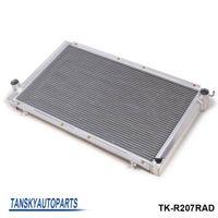 Wholesale Subaru Parts - TANDKY -42mm 2 Row Aluminum Radiator MT New For Subaru Impreza WRX STi STI GC8 TK-R207RAD